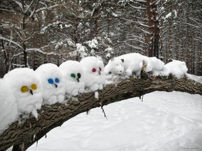20простых способов занять детей зимой