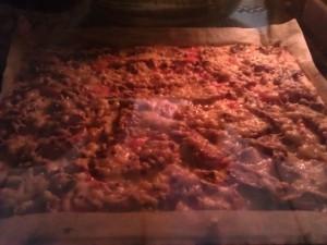 Пицца без муки из цветной капусты и овсянки