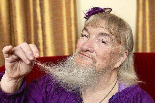 Самая длинная женская борода