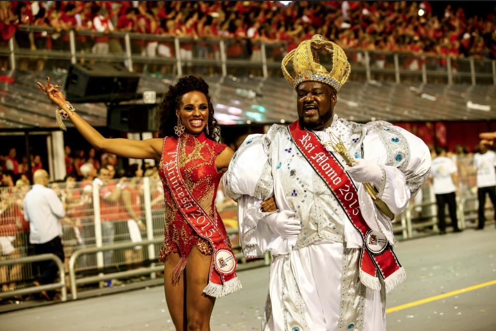 Красочный бразильский карнавал 2015