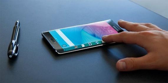 Samsung Galaxy S6 Edge новинка с изогнутым экраном