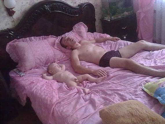 Удобные позы для сна.