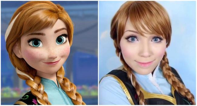 Девушка примерила образы 15диснеевских принцесс
