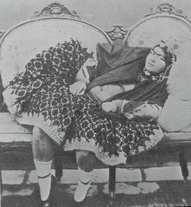 Гарем шаха 19 века (фото шокирующей реальности)