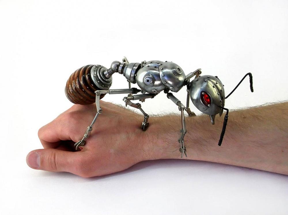 Российский художник делает обалденные вещи встиле стимпанк
