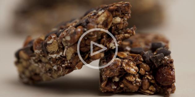 ВИДЕО: Энергетические батончики из сухих завтраков