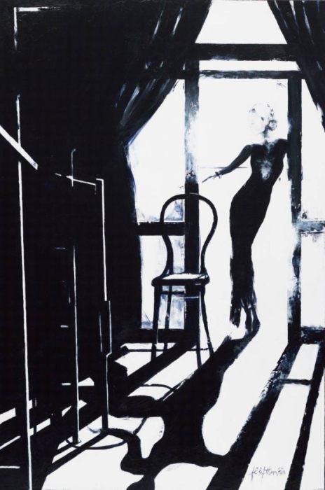 Потрясающая серия работ «Блюз». Автор: художница-самоучка Джанель Элефтекракис (Janel Eleftherakis).