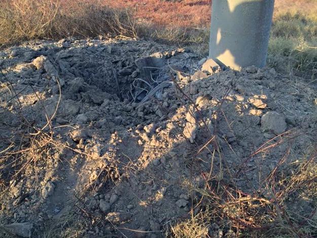 В Херсонской области повреждена опора, подающая электроэнергию в Крым