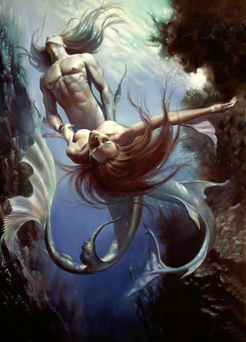 Соблазнительный мир фэнтези в картинах Бориса Валеджо