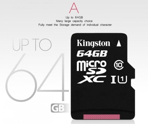 Распродажа 11.11: MicroSD-карта Kingston на 64 ГБ