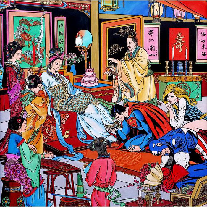Императрица, или женское лидерство. Автор: Jacky Tsai.