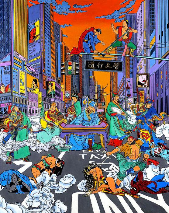 Рынок рабов. Автор: Jacky Tsai.