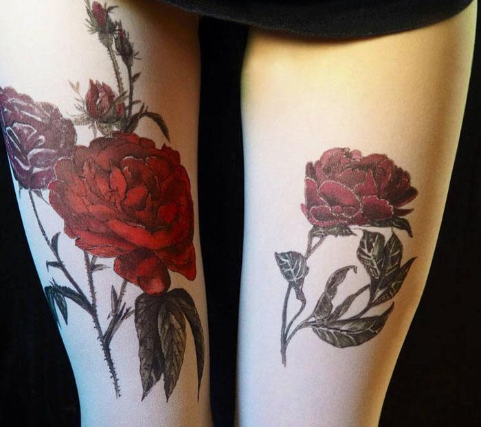 Красные розы.  Дизайнер: Silvana Ilieva.