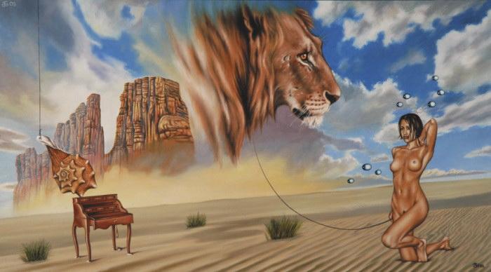 Укрощение небесного льва. Автор: Андрей Горенков.