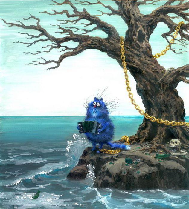 У Лукоморья дуб зелёный...  Автор: Ирина Зенюк.