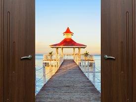 Стеклянные двери – превосходное решение для вашего жилища