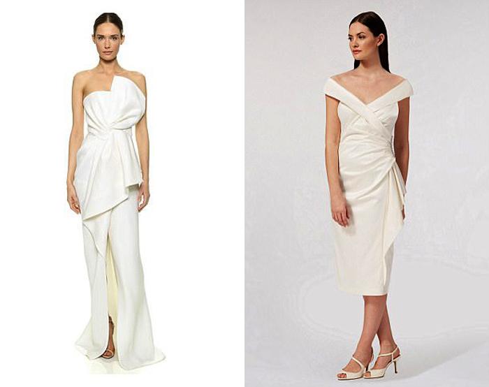 Модельные платья.