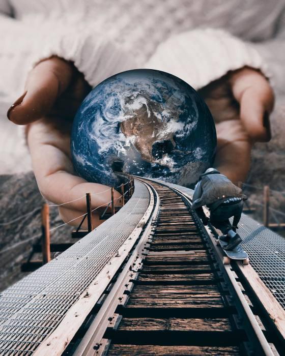 Все дороги ведут к... Автор: Huseyin Sahin.