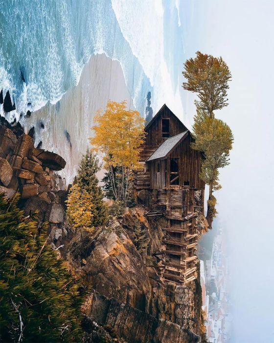 Есть желающие пожить в этом доме? Автор: Huseyin Sahin.