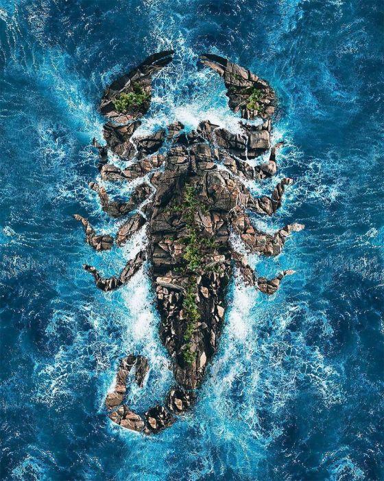 Скорпионов остров. Автор: Huseyin Sahin.