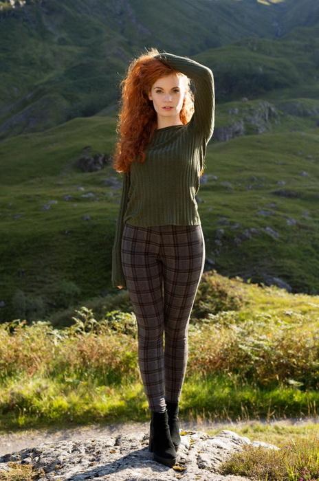 Кирсти из шотландского высокогорья.