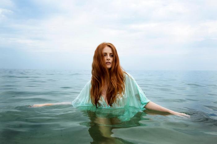 Алиша на Черном море (Одесса, Украина).