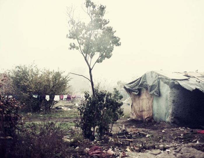 Трущобы на краю Вроцлава. 22 октября 2012 года. Фото: Adam Lach.
