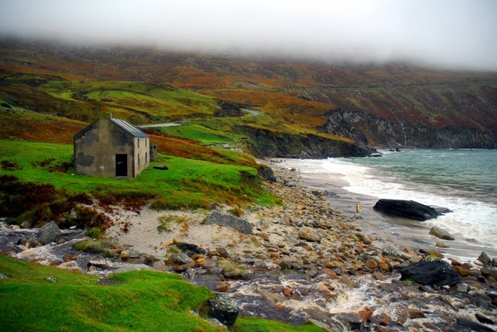 На ирландском побережье. \ Фото: @gerryfaughnan