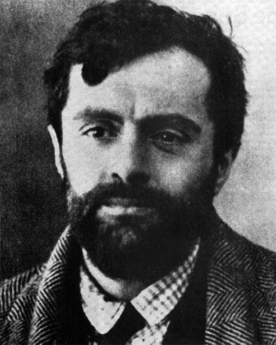Амедео Модильяни в 1919, незадолго до своей смерти.