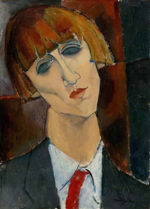 Мадам Кислинг. 1917 г. Автор: Amedeo Modigliani.