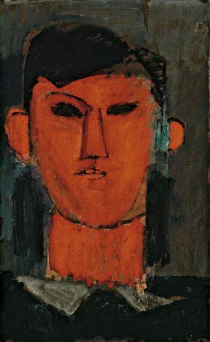 Портрет Пабло Пикассо, 1915 г. Автор: Amedeo Modigliani.