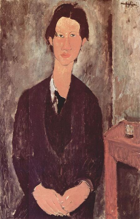 Портрет Хаима Сутина. 1916 г. Автор: Amedeo Modigliani.