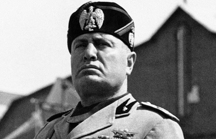 Итальянский диктатор Бенито Муссолини. | Фото: italy4.me.