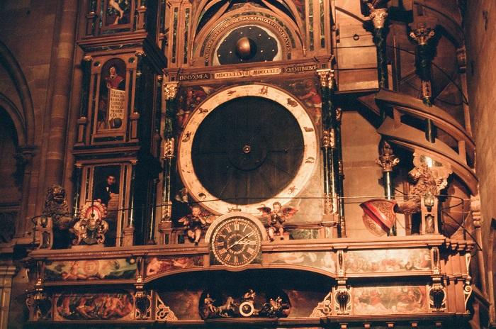 Астрономические часы в соборе в Страсбурге (Франция). | Фото: flickr.com.